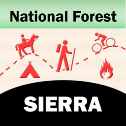 Sierra National Forest – GPS Offline Map Navigator