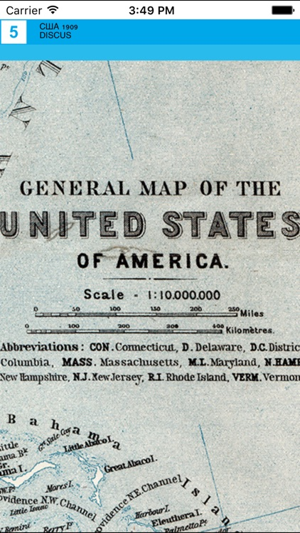 United States of America (1909). Historical map. screenshot-4