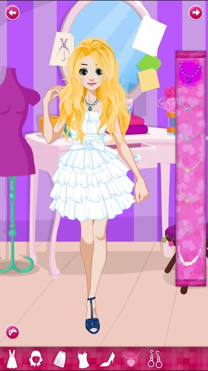Back to School - Princess Anna Dress up Game screenshot-4