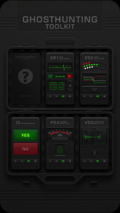 Ghosthunting Toolkit app image