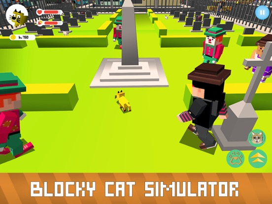 Blocky Cat Simulator screenshot 7