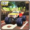怪物4WD农用车停车场