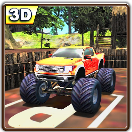 Monster 4WD Farm Truck Parking iOS App