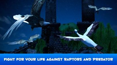 Flying Stork Simulator: Bird Life 3D screenshot two