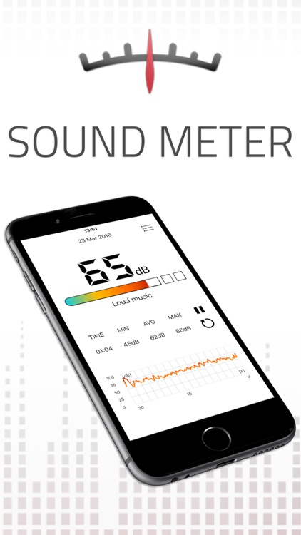 Sound Meter HQ screenshot-4