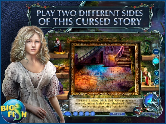 Dark Romance: Curse of Bluebeard - Hidden Objects screenshot 8