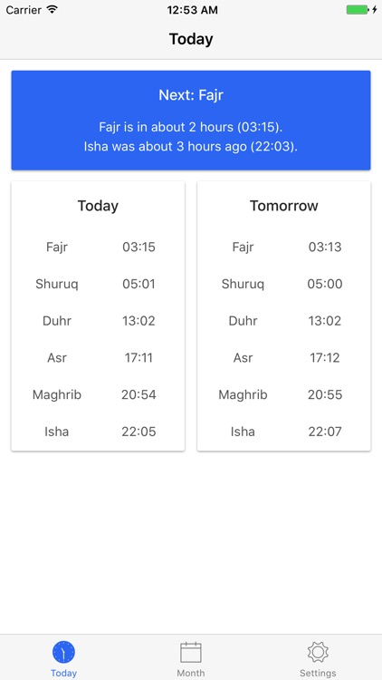 London Prayer Times screenshot-0