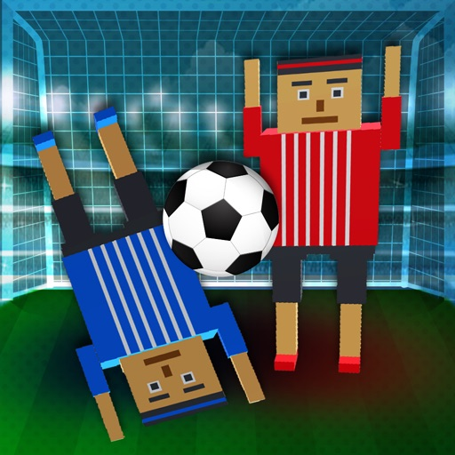 Soccer Physics 3D Cubic Block Party Football Sport