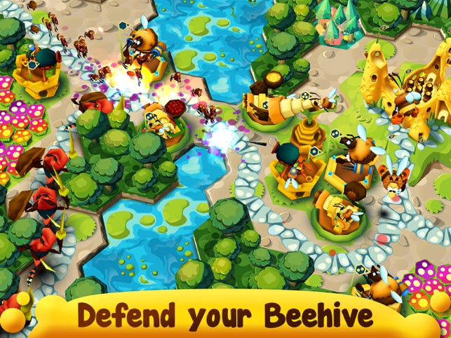 BeeFense, game for IOS