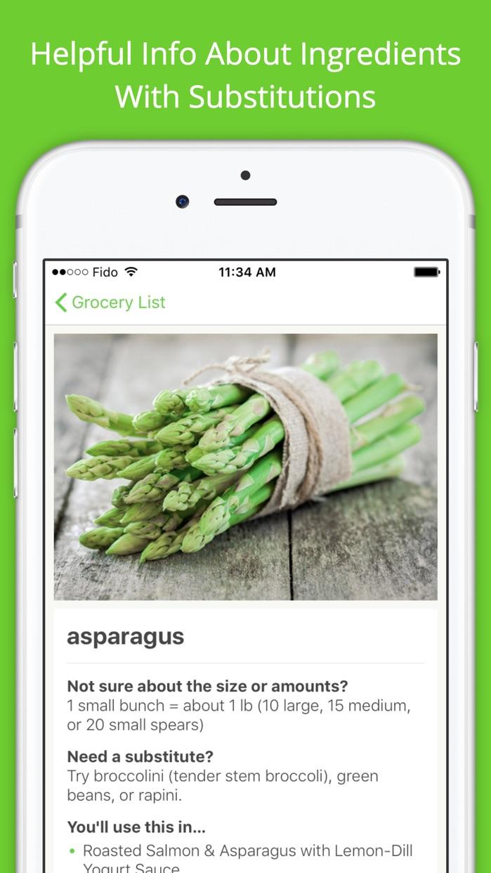 Mealime - Easy Meal Plans Screenshot