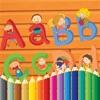 ABC宝宝涂色大巴士 : 儿童给人物涂色并认识各种颜色HD