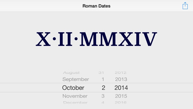 Roman Dates On The App Store