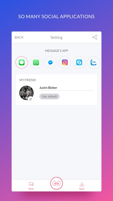 iFake - Funny Fake Messages Creator Screenshot 4