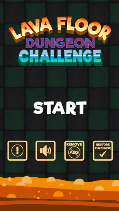 Lava Blocks Dungeon : Escape Floor Challenge! screenshot one