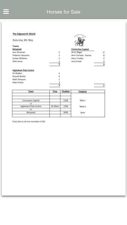 Edgeworth Polo Club screenshot-3