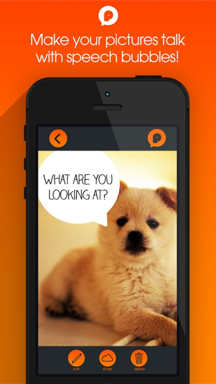 PicTalk+ Add Speech Text Caption Bubbles to Photos