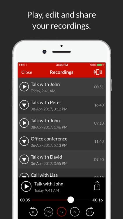Call Recorder : Record Phone Calls screenshot-3