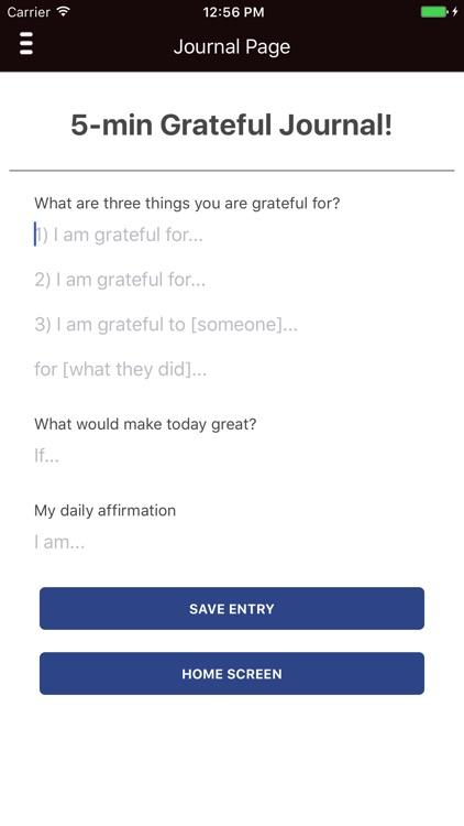 Gratefully: Gratitude Journal & Thankful Messages