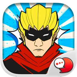 Heroes Pop Art Stickers Keyboard By ChatStick