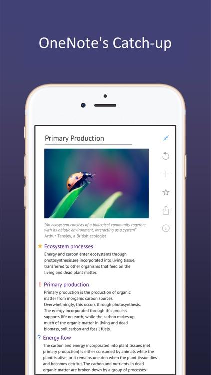 Outline – one note app to write, organize & print screenshot-4