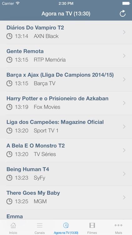 Televisão Portuguesa screenshot-3