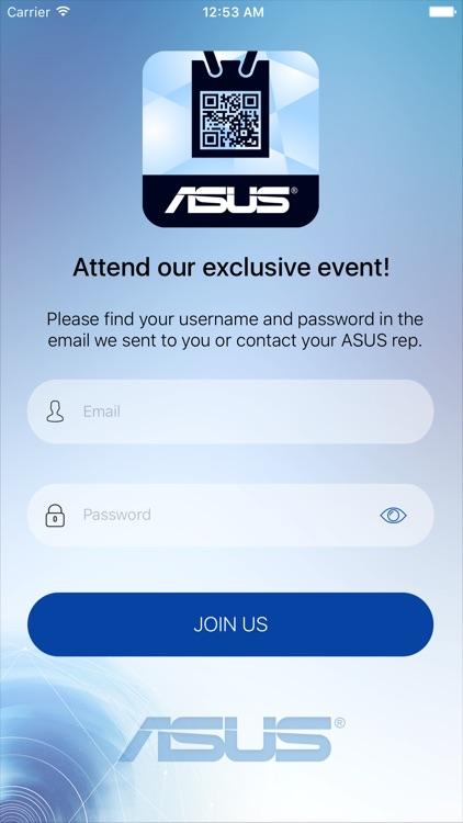 asus invitation app event by asus brasil