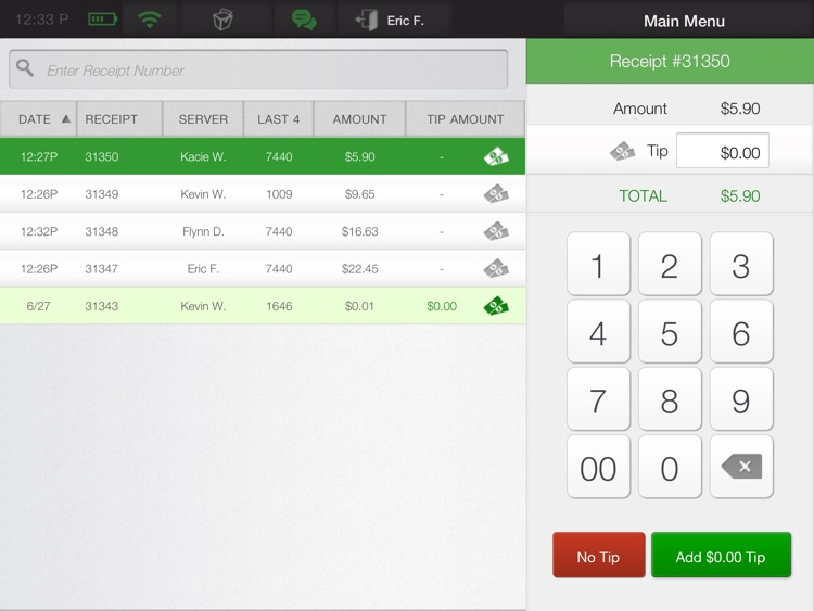 CAKE OrderPad - iPad POS screenshot-4