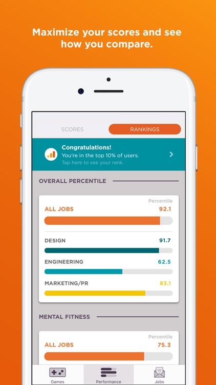 JobFlare: Brain Games for Jobs screenshot-3