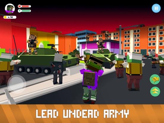 Blocky Zombie Simulator screenshot 7