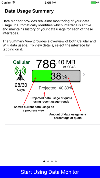 Data Monitor - Manage Data Usage in Real Time screenshot four