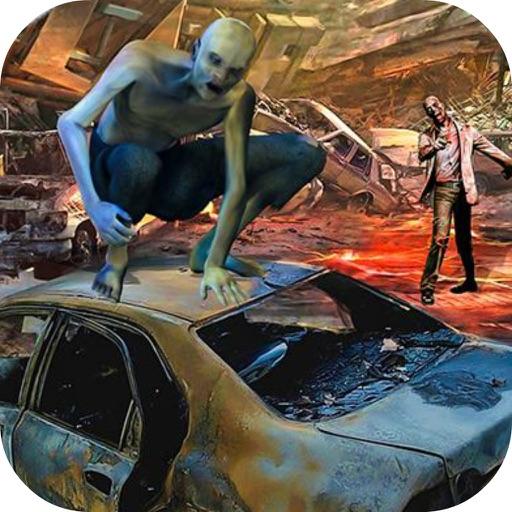 Crazy Car Crush Zombie