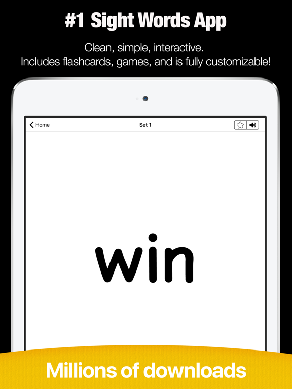Sight Words List - Learn to Read Flashcards Games | App Price Drops
