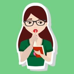 LibMoji: Library Themed Stickers