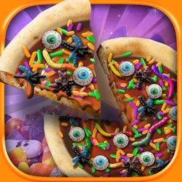 Halloween Candy Pizza Maker - Dessert Food Cooking