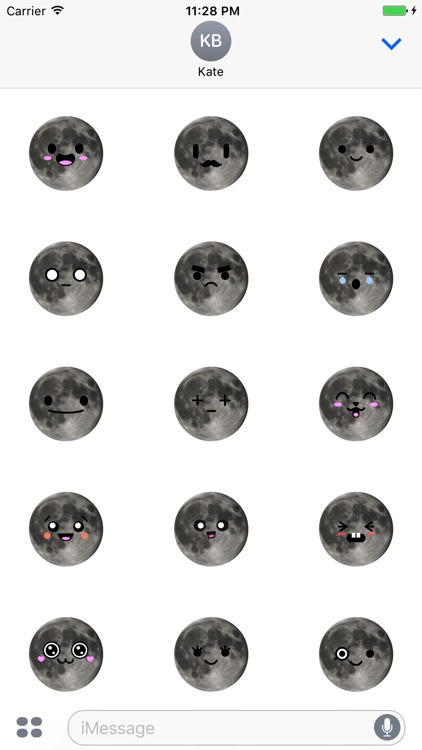 MOONEMOJI - Full Moon Emojis