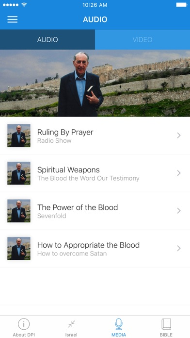Derek Prince Israel screenshot 3