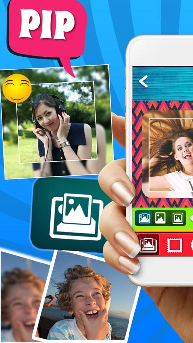распускаются приложение делит фото на квадраты ткани можно