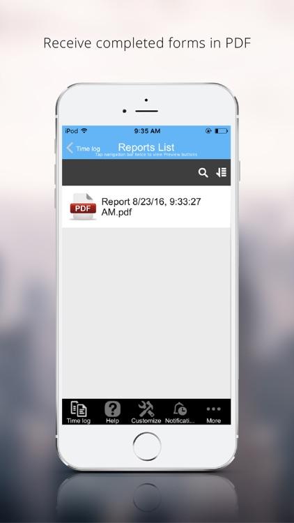 Daily Time Log screenshot-3