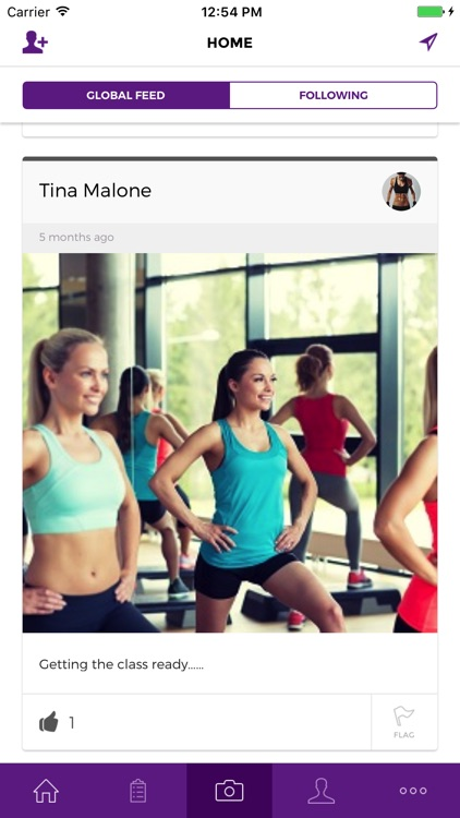 GymFit: The fitness social network.