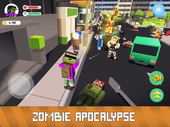 Blocky Zombie Simulator screenshot 6