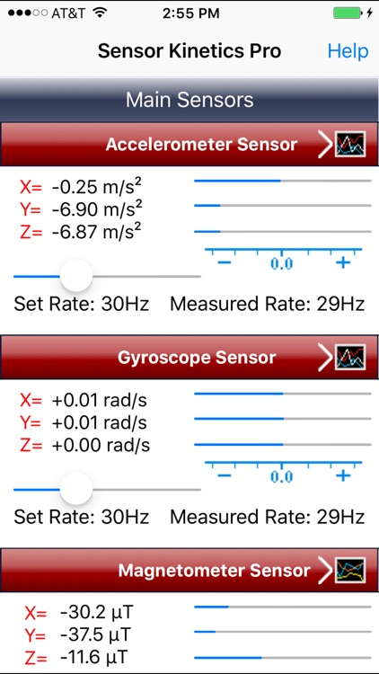 Sensor Kinetics Pro screenshot-1