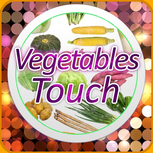 Vegetables Touch ~ simple trivia game ~