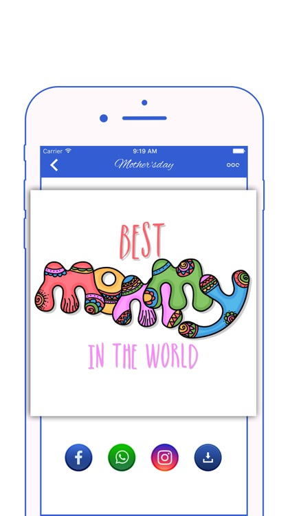 Happy Mother's Day Stickers screenshot-1