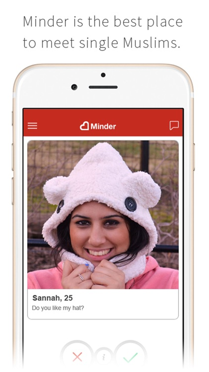 Minder - The place for single Muslims to meet