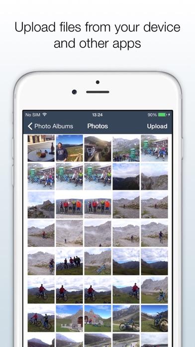 Owncloud review screenshots