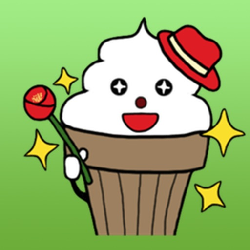 Cute Ice Cream Kid Sticker