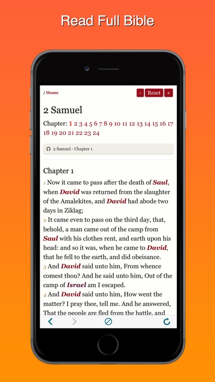 King James Version Bible Offline:KJV Audiobook MP3 screenshot-3