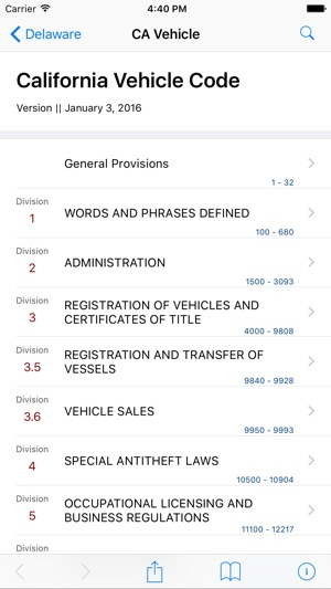 California Vehicle Code (LawStack Series) on the App Store