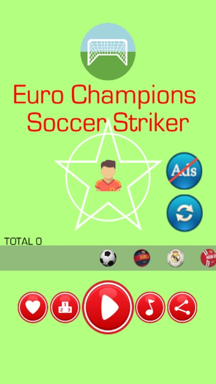 Euro Champions Soccer Striker