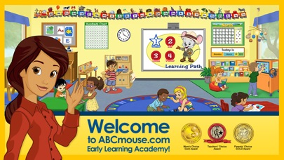 Screenshot for ABCmouse.com in United States App Store